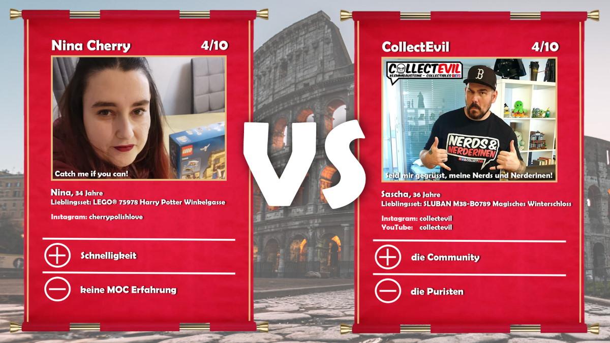 Nina Cherry vs CollectEvil (Sascha)