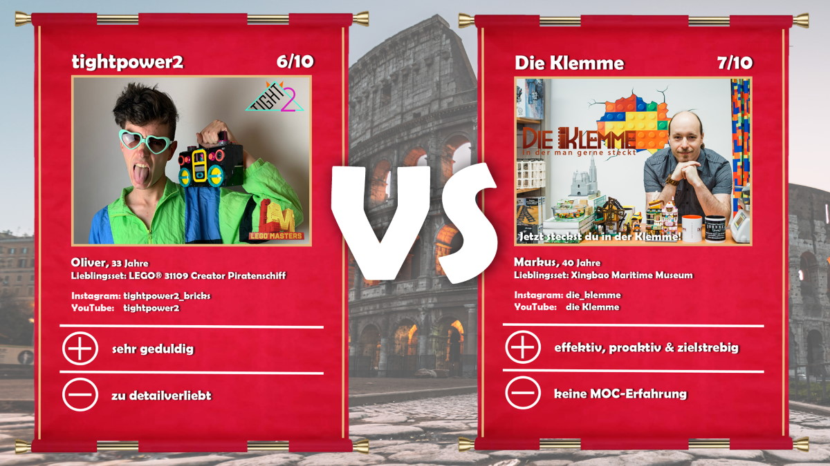 Tightpower2 Oliwa (LEGO® Masters Kandidat Oliver) vs Die Klemme (Markus)